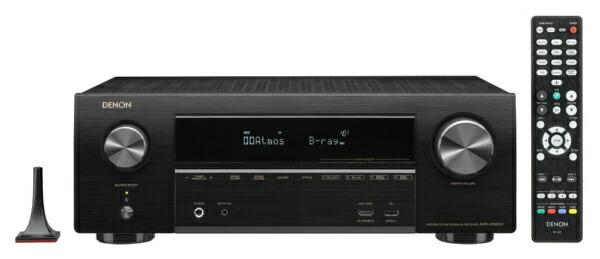 デノンDenonAVR-X1600HKAVアンプDENONブラック[ハイレゾ対応/Bluetooth対応/Wi-Fi対応/ワイドFM対応/7.1ch/DolbyAtmos対応][AVRX1600HK]