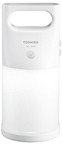 東芝TOSHIBALKL-3000(W)ランタン[LED/単3乾電池×3/防水]