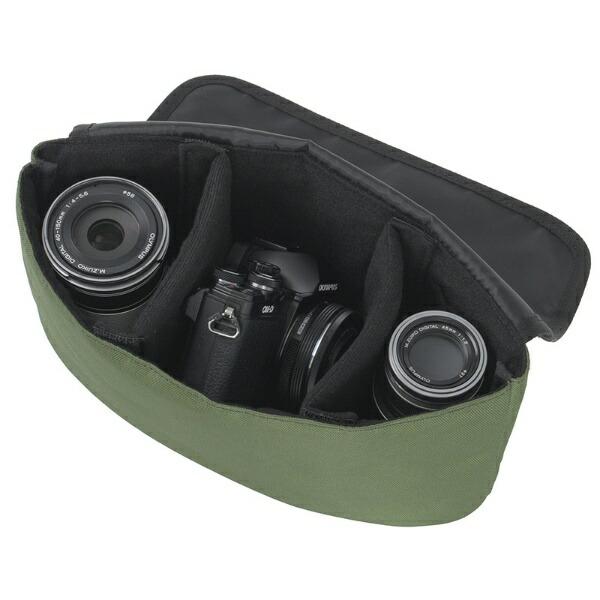 TAGlabelbyamadanaタグレーベルバイアマダナカメラバッグcamerabagAT-CB11(FG)フォレストグリーン【ビックカメラグループオリジナル】【point_rb】