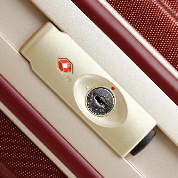 レジェンドウォーカーLEGENDWALKERシボ加工スーツケース47Lシャンパンゴールド5088-55-CGD[TSAロック搭載]