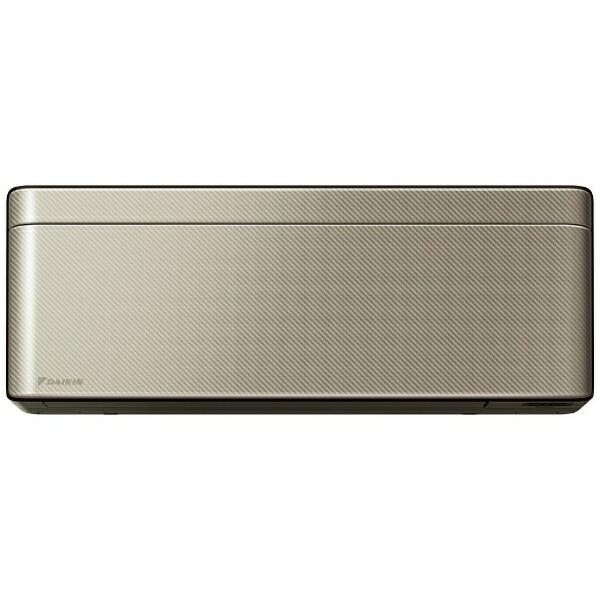 ダイキンDAIKINAN40WSP-Nエアコン2019年risora(リソラ)Sシリーズツイルゴールド[おもに14畳用/200V]【zero_emi】