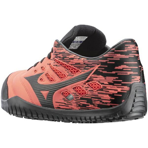 ミズノmizuno27.0cm靴幅:3Eメンズ安全靴MIZUNOWORKINGオールマイティTD11L(オレンジ×ブラック)F1GA190054【JSAA・普通作業用(A種)認定品耐滑プロテクティブスニーカー】