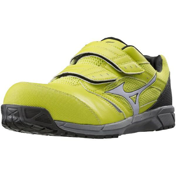 ミズノmizuno25.5cm靴幅:3Eメンズ安全靴MIZUNOWORKINGミズノ・オールマイティLS(イエロー×ホワイト×ブラック)C1GA170145【JSAA・普通作業用(A種)認定品耐滑プロテクティブスニーカー】