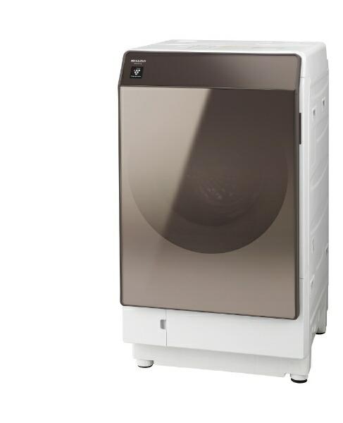 シャープSHARPES-G112-TLドラム式洗濯乾燥機ブラウン系[洗濯11.0kg/乾燥6.0kg/ヒートポンプ乾燥/左開き][洗濯機11kgESG112]