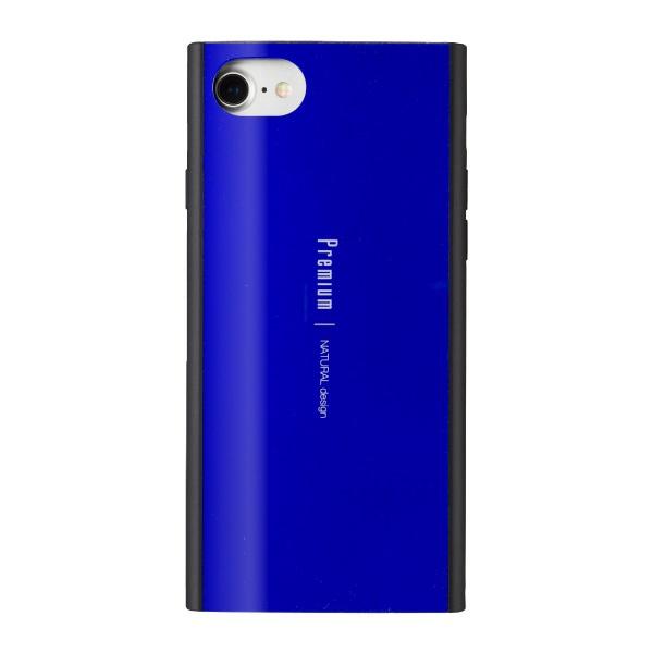 ナチュラルデザインNATURALdesigniPhone8/7/6s/6兼用背面ケースPremiumBlueiP7-PRE05