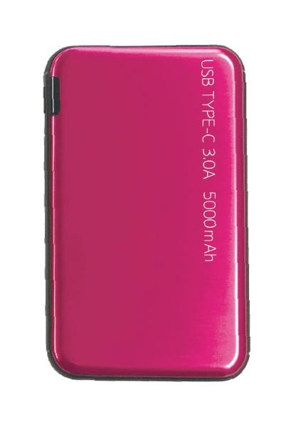 ウイルコム株式会社小型モバイルバッテリーウイルコムLCC050-11BRY[5000mAh/2ポート/充電タイプ]