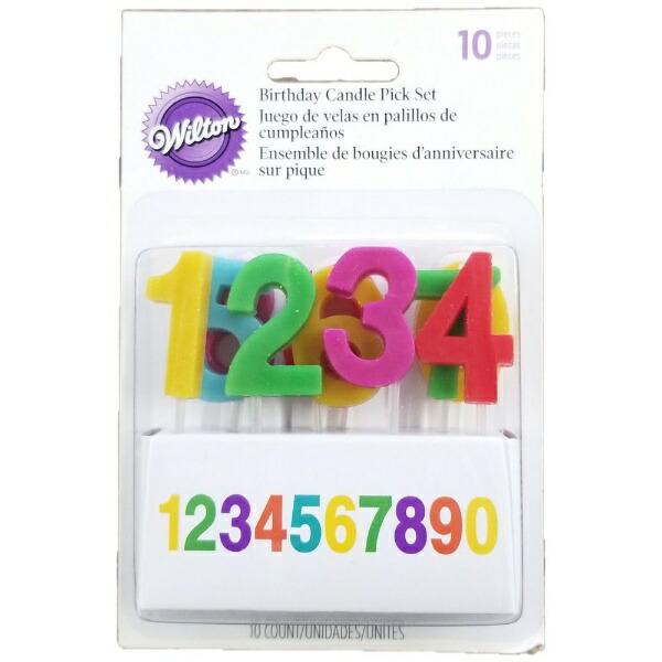 Wiltonウィルトンキャンドルピックナンバーズ2811-701