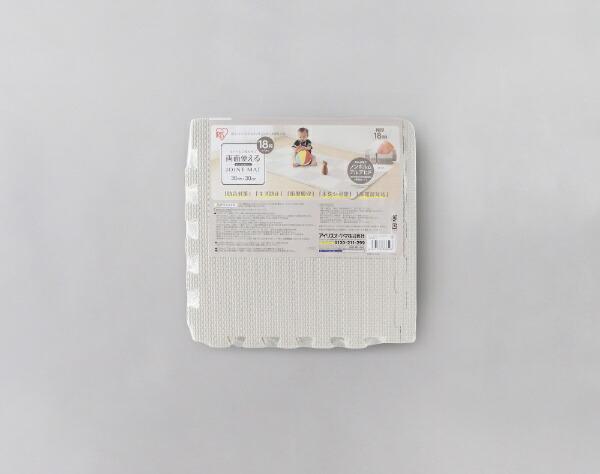 アイリスオーヤマIRISOHYAMAリバーシブルジョイントマットJMRN-318グレー/ホワイト