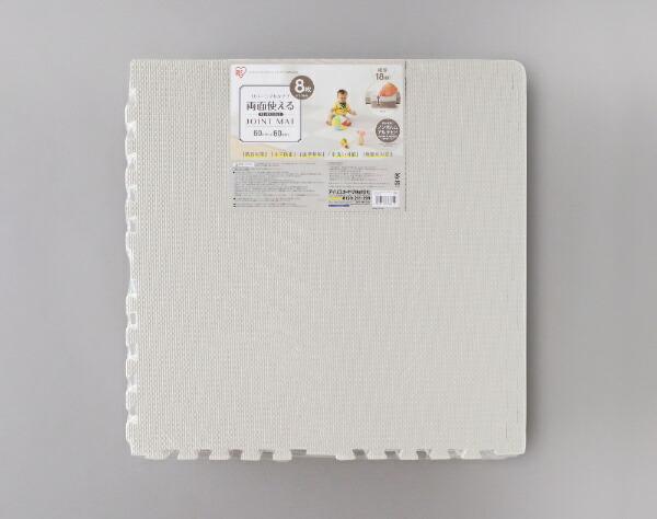 アイリスオーヤマIRISOHYAMAリバーシブルジョイントマットJMRN-68グレー/ホワイト[60×60]