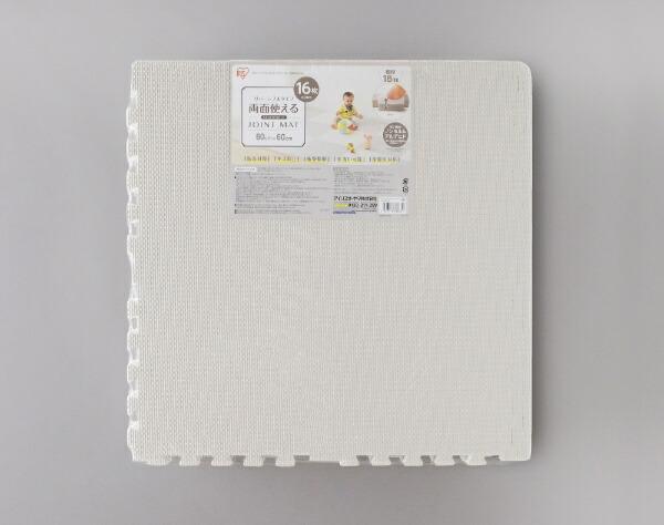 アイリスオーヤマIRISOHYAMAリバーシブルジョイントマットJMRN-616グレー/ホワイト