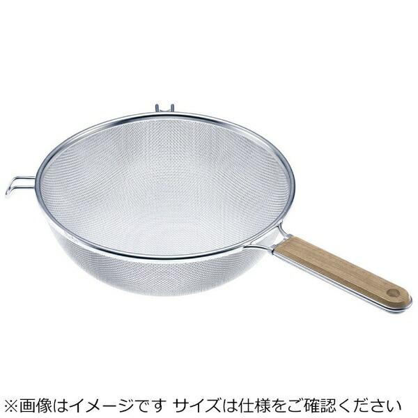 新越ワークスshinetsu-worksTS木柄タフストレーナー25cm<BST6903>[BST6903]