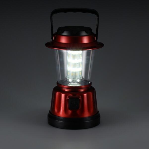 オーム電機OHMELECTRIC【ビックカメラグループオリジナル】LEDランタンBKSLTLD116-Rレッド[LED/単3乾電池×4/防水]