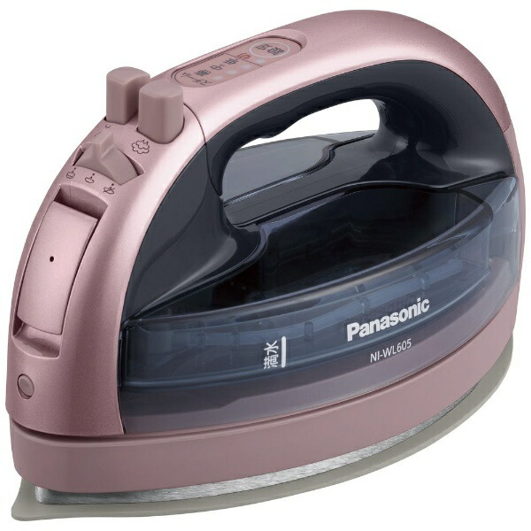 パナソニックPanasonicNI-WL605-PコードレススチームアイロンCaRuru(カルル)ピンク[ハンガーショット機能付き][NIWL605P]