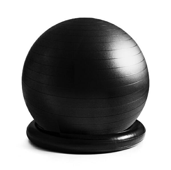 La-VIEラ・ヴィリング付ジムボール姿勢よしお(65cm/ブラック)3B-3123