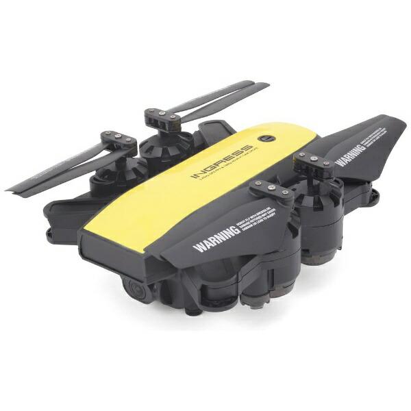 ジーフォースGFORCEドローンGPSインテリジェントドローンINGRESS(イングレス)ブラックGB080[ドローン小型カメラ付きGPS]