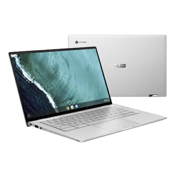 ASUSエイスースChromebookFlip14型ノートPCC434TA-AI0095シルバー[14.0型/eMMC:32GB/メモリ:4GB][ノートパソコン14インチ新品C434TAAI0095]