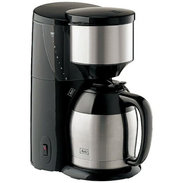 メリタMelittaコーヒーメーカーアロマサーモブラックJCM-1031/SZ[JCM1031SZ]