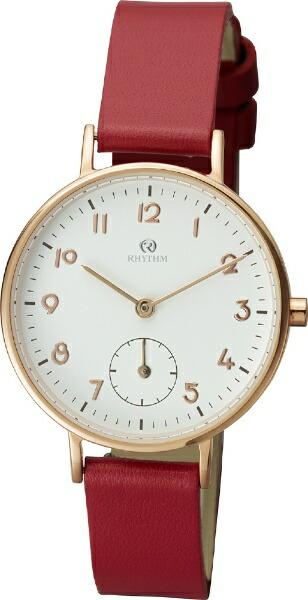 リズム時計RHYTHMチェンノ(cenno)スタンダード0099ZR009RH019ZR009RH01レッド
