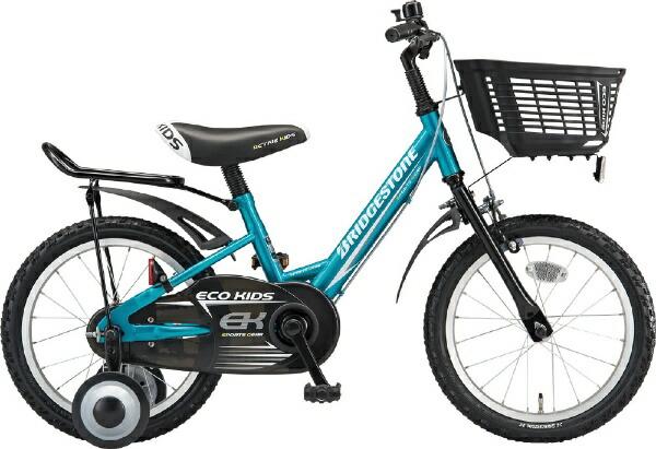 ブリヂストンBRIDGESTONE14型子供用自転車エコキッズスポーツ(グリーン&ブラック/シングルシフト)EKS14【組立商品につき返品不可】【代金引換配送不可】