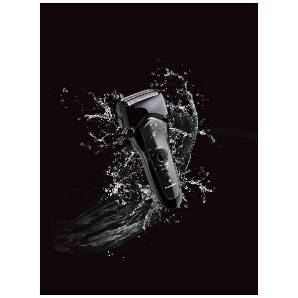 パナソニックPanasonic【ビックカメラグループオリジナル】リニアシェーバー[国内・海外対応]LAMDASH(ラムダッシュ)黒ES-KSF2D-K[4枚刃/AC100V-240V][電気シェーバーESKSF2DK]【point_rb】