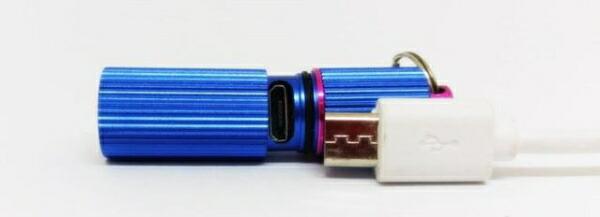 日本ポステックJPTPISABLU懐中電灯PISAlightブルー[LED/充電式/防水]
