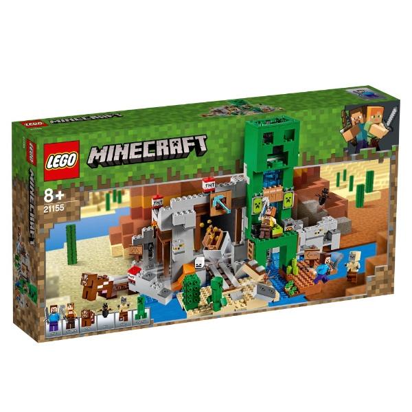 レゴジャパンLEGO21155マインクラフト巨大クリーパー像の鉱山[レゴブロック]