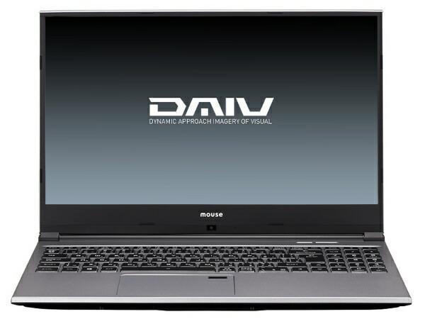 マウスコンピュータMouseComputerDAIVノートパソコンBC-DAIVN15G165-192[15.6型/intelCorei7/HDD:1TB/SSD:512GB/メモリ:16GB/2019年8月モデル][15.6インチ新品windows10]