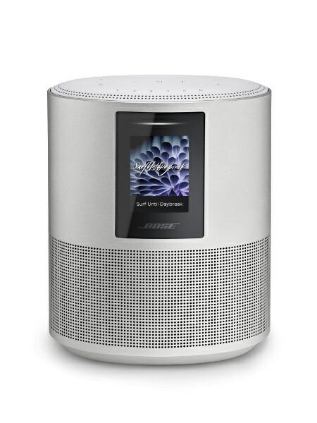 BOSEボーズスマートスピーカーBoseHomeSpeaker500LuxeSilver[Bluetooth対応/Wi-Fi対応][HOMESPEAKER500SLV]