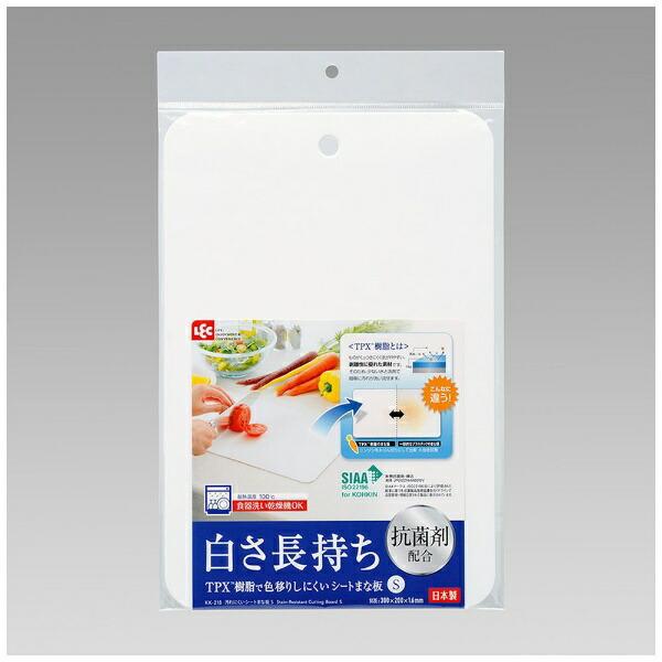 レックLEC汚れにくいシートまな板SKK-218ホワイト[KK218]
