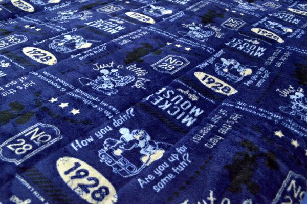 MORIPILOモリピロDisney洗える敷きパッド【クラシックミッキー】100×205cmシングルサイズ