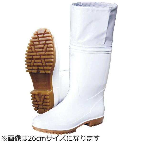弘進ゴムKOHSHINRUBBER弘進ゾナG5カバー付白長靴28cm<SNG4210>[SNG4210]