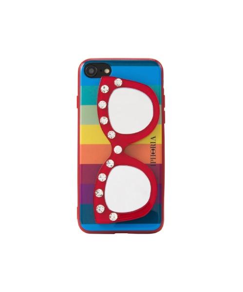 IPHORIAアイフォリアRainbowDiamondWithGlassesforiPhoneSE(第2世代)/7/8対応レインボーダイアモンドウィズグラッシーズ16238