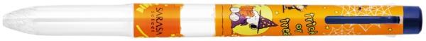 ゼブラZEBRA【限定】サラサセレクト3色スヌーピーオレンジS3A20-SN-OR[S3A20SNOR]