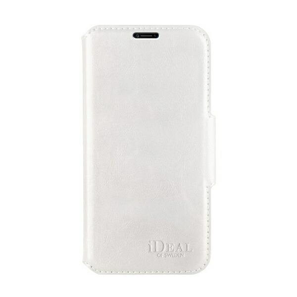 IDEALOFSWEDENアイディールオブスウェーデンiPhoneX/Xs用ウォレットケースホワイトIDLW-I8-10