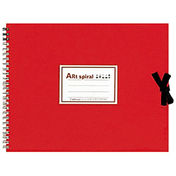 マルマンmarumanF3スケッチブックアートスパイラルレッドS313-01