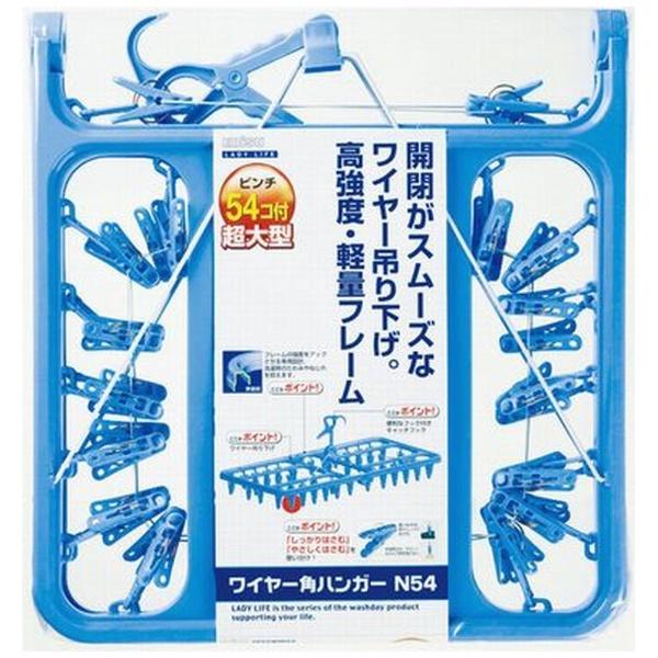 エビスEBiSUNワイヤー角ハンガーN54LL-2043