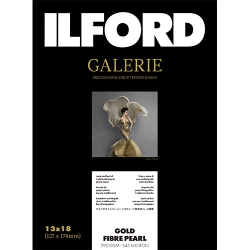 イルフォードILFORDイルフォードギャラリーゴールドファイバーパール290g/m2(127x178・50枚)ILFORDGALERIEGoldFibrePearl433202[433202]【wtcomo】