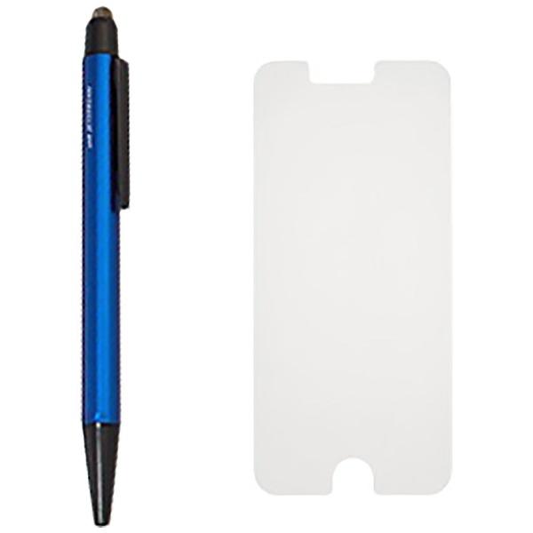 三菱鉛筆MITSUBISHIPENCIL[油性ボールペン+フィルム]ジェットストリームスタイラス(0.5mm/黒)+iPhone6/6s専用セットSXNT-1200A-051PSXNT1200A5P9ネイビー
