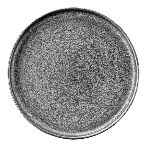 ミヤザキ食器MIYAZAKI崇雪切立プレートシルバー23cm<RSU2201>[RSU2201]