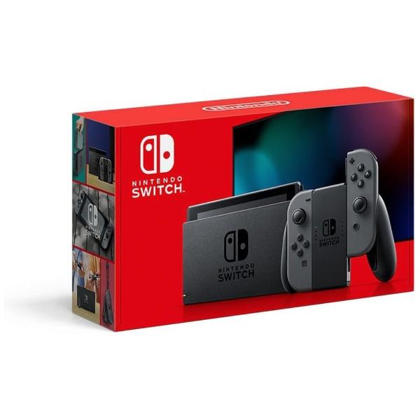 任天堂NintendoNintendoSwitchJoy-Con(L)/(R)グレー[2019年8月モデル][ニンテンドースイッチ本体新型ゲーム機本体]