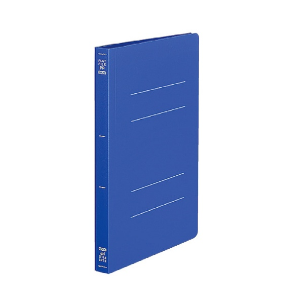 トンボ鉛筆TombowフラットファイルPPA5S青