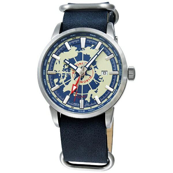 ハンティングワールドHUNTINGWORLDメンズ腕時計スーブニールHW027BLブルー[並行輸入品]