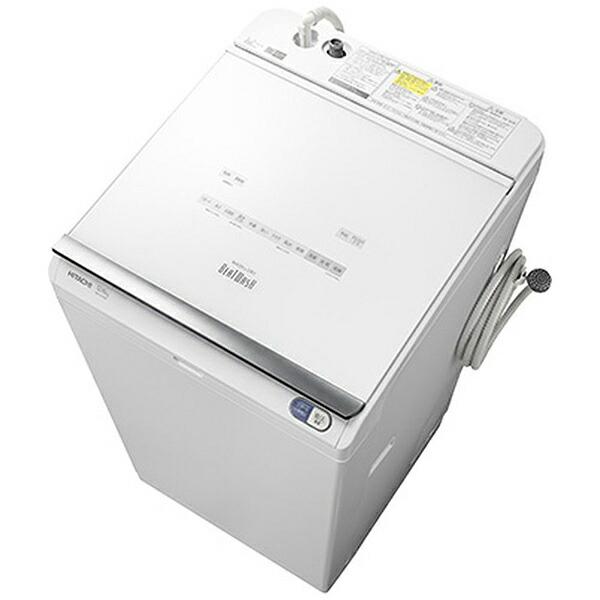 日立HITACHIBW-DX120E-W縦型洗濯乾燥機ビートウォッシュホワイト[洗濯12.0kg/乾燥6.0kg/ヒーター乾燥(水冷・除湿タイプ)/上開き][ビートウォッシュ洗濯機12kgBWDX120E]