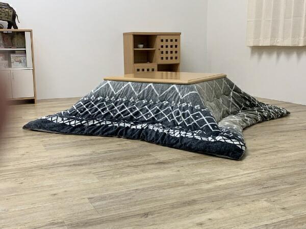 イケヒコIKEHIKO5544419こたつ布団リベラグレー[対応天板サイズ:約80×120cm/長方形]