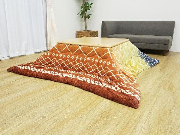 イケヒコIKEHIKO5544519こたつ布団リベラレッド[対応天板サイズ:約80×120cm/長方形]