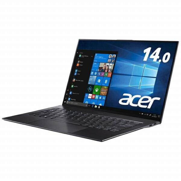 ACERエイサーノートパソコンスターフィールドブラックSF714-52T-A76Y/K[14.0型/intelCorei7/SSD:512GB/メモリ:16GB/2019年9月モデル][SF71452TA76YK]