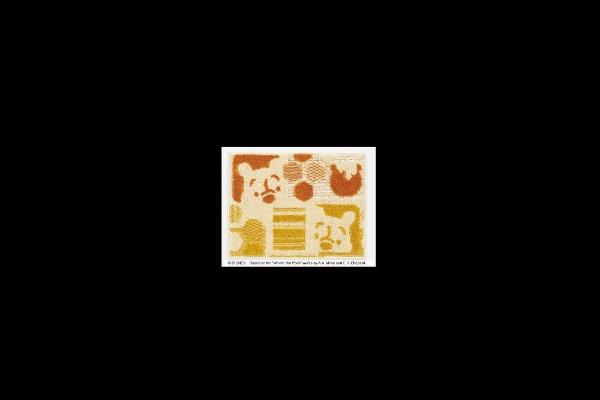 スミノエSUMINOEキッチンマットディズニーDMP-5006(45×60cm/オレンジ)