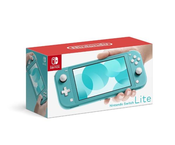 任天堂NintendoNintendoSwitchLiteターコイズHDH-S-BAZAA[ニンテンドースイッチライト本体ゲーム機本体]