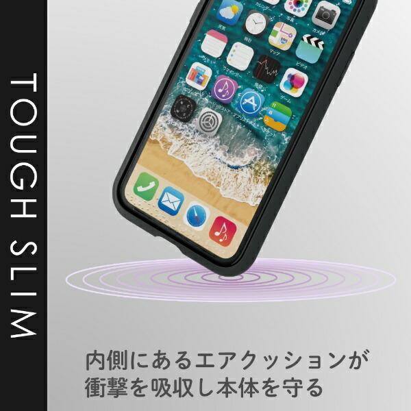 エレコムELECOMiPhone116.1インチ対応TOUGHSLIM2ブラックPM-A19CTS2BK