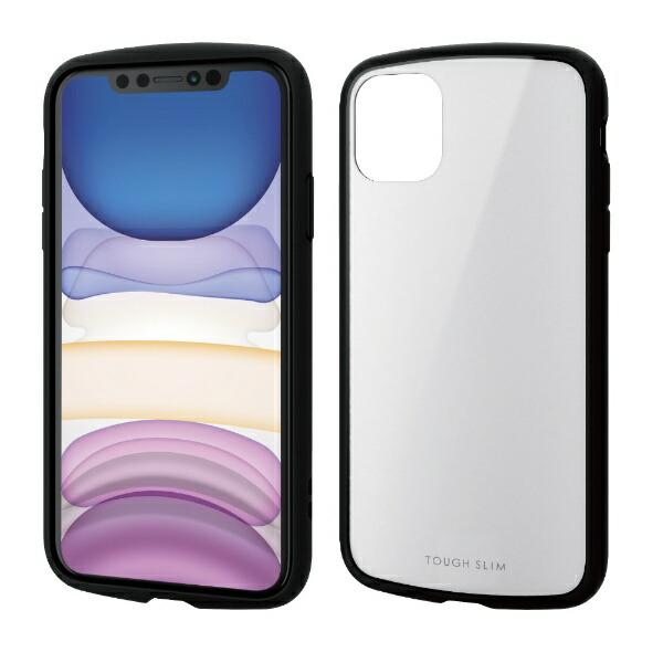 エレコムELECOMiPhone116.1インチ対応TOUGHSLIMLITEホワイトPM-A19CTSLWH